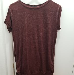 Forever 21 Maroon Short Sleeve Tee. Size S